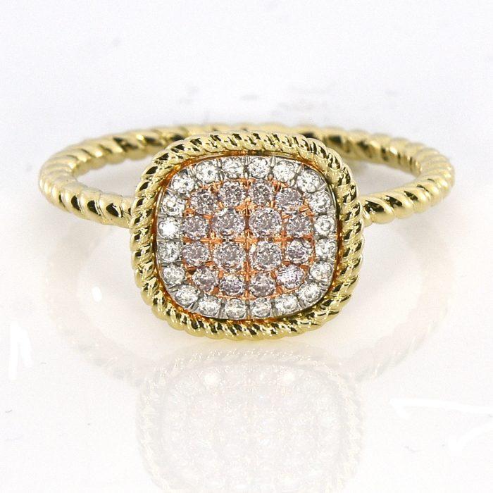 Real 030ct Natural Pink Purple Color Diamond Engagement Ring Cushion 18K VS SI 263744165881 700x700 - Real 0.30ct Natural Pink Purple Color Diamond Engagement Ring Cushion 18K VS-SI