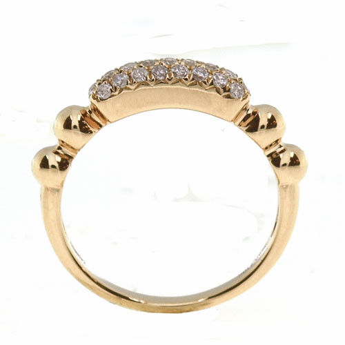 Real 032ct Natural Fancy Pink Diamonds Engagement Ring 18K Solid Gold Rounds 253842919291 3 - Real 0.32ct Natural Fancy Pink Diamonds Engagement Ring 18K Solid Gold Rounds