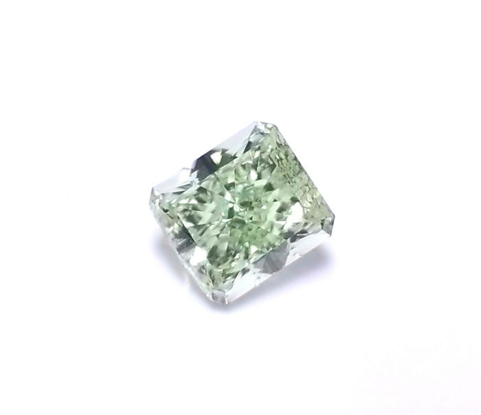 Real 072ct Natural Loose Fancy Green Color Radiant Diamond GIA SI1 Rare 263813430131 700x604 - Real 0.72ct Natural Loose Fancy Green Color Radiant Diamond GIA SI1 Rare