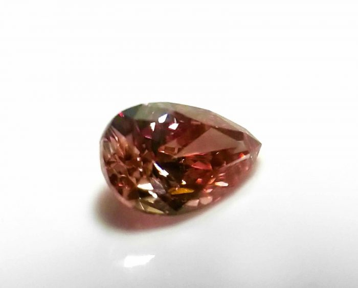 Argyle 015ct Natural Loose FancyvDeep Orangy Pink Pear Shape Diamond PC2 SI1 254095687812 3 700x564 - Argyle 0.15ct Natural Loose Fancy Deep Orangy Pink Pear Shape Diamond PC2 SI1