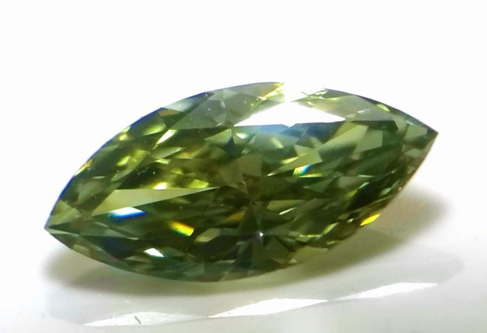 green chamelon diamond