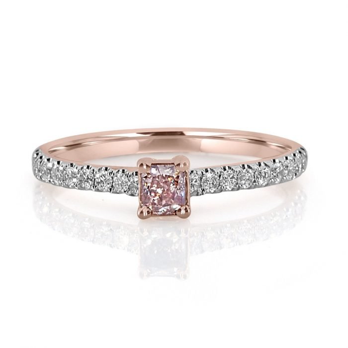 Real 050ct Natural Fancy Pink Diamond Engagement Ring 18K Solid Rose Gold 253798509192 700x700 - Real 0.50ct Natural Fancy Pink Diamond Engagement Ring 18K Solid Rose Gold