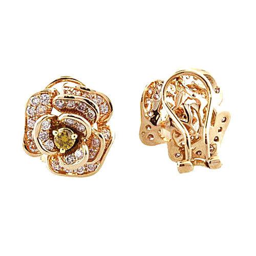 Real Fine 128ct Fancy Pink Diamonds Earrings 18K All Natural Stud Flowers Gold 263855969522 3 - Real Fine 1.28ct Fancy Pink Diamonds Earrings 18K All Natural Stud Flowers Gold