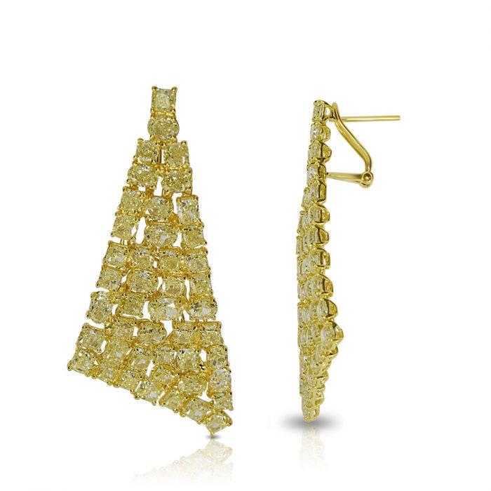 Wow Fine 1910ct Fancy Yellow Diamonds Earrings 18K All Natural 13 Grams Gold 253794686542 2 700x700 - Wow Fine 19.10ct Fancy Yellow Diamonds Earrings 18K All Natural 13 Grams Gold