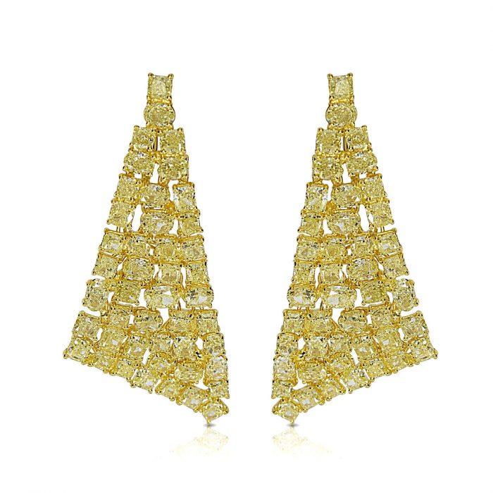 Wow Fine 1910ct Fancy Yellow Diamonds Earrings 18K All Natural 13 Grams Gold 253794686542 700x700 - Wow Fine 19.10ct Fancy Yellow Diamonds Earrings 18K All Natural 13 Grams Gold