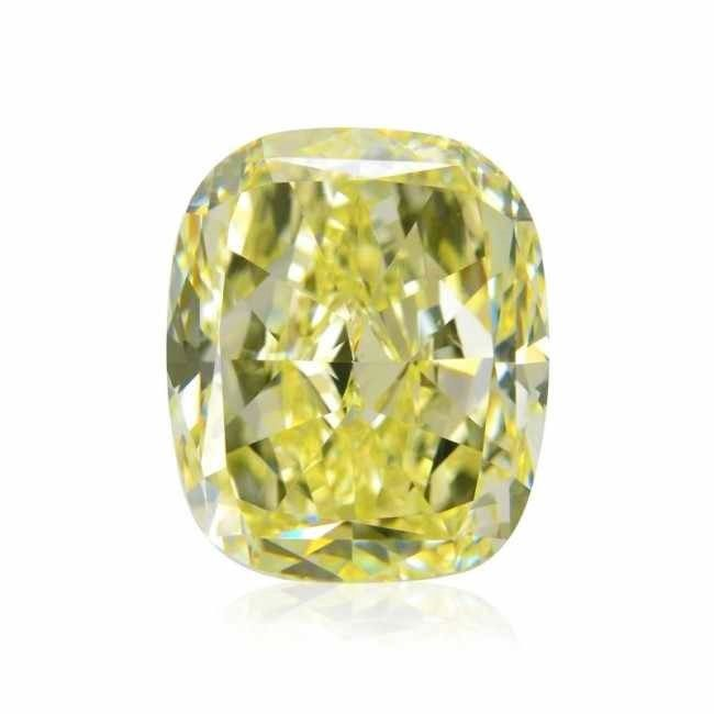 Yellow Diamond 325ct Natural Loose Fancy Yellow Canary GIA VVS2 Cushion 264142918532 - Yellow Diamond - 3.25ct Natural Loose Fancy Yellow Canary GIA VVS2 Cushion
