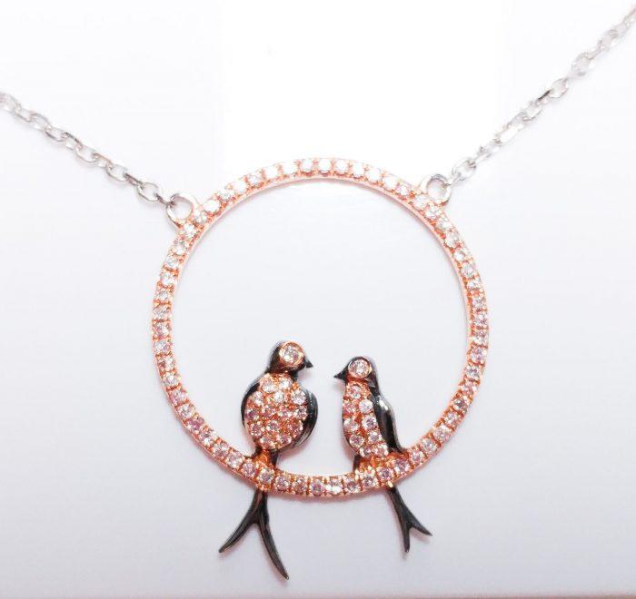 ARGYLE Pink Diamond Necklaces Pendant 050ct Natural Fancy Pink Birds 18K 253713569103 4 700x660 - ARGYLE Pink Diamond – Necklaces & Pendant 0.50ct Natural Fancy Pink Birds 18K