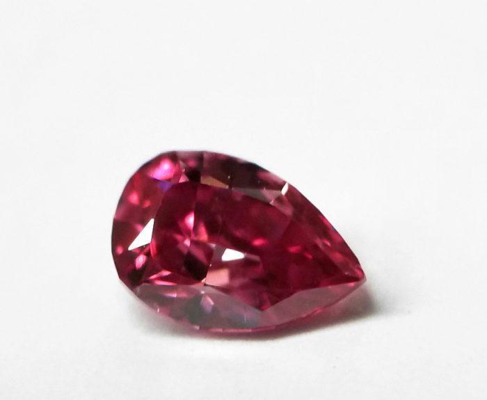 Real 019ct Natural Loose Fancy Vivid Purple Pink Color Diamond GIA Pear SI2 253957205953 4 700x575 - Real 0.19ct Natural Loose Fancy Vivid Purple Pink Color Diamond GIA Pear SI2