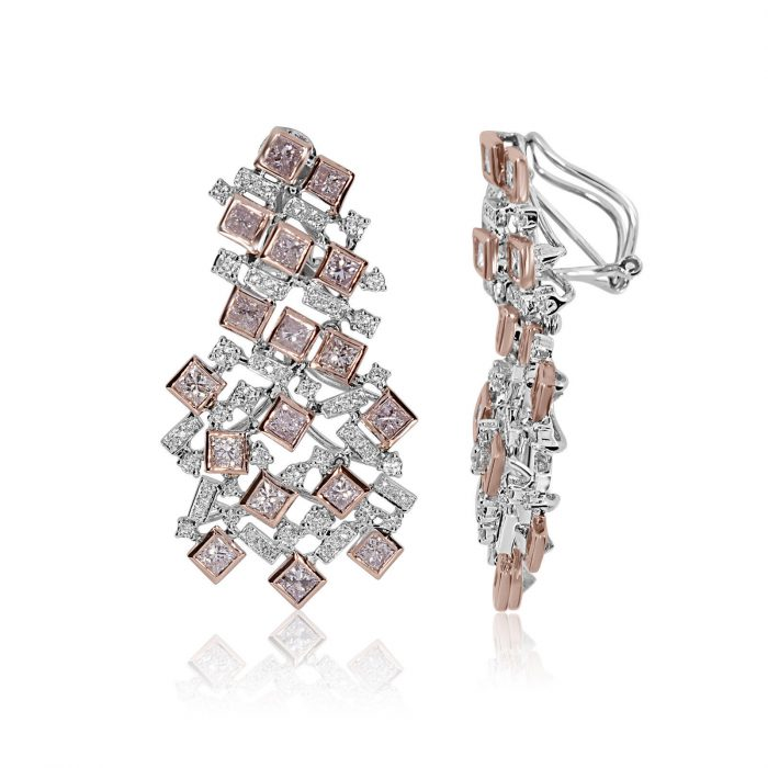 Real Fine 622ct Fancy Pink Diamonds Earrings 18K All Natural 16 Grams Rose Gold 253785655153 2 700x700 - Real Fine 6.22ct Fancy Pink Diamonds Earrings 18K All Natural 16 Grams Rose Gold