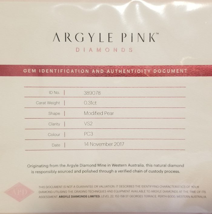 Argyle 031ct Natural Loose Fancy Intense Orangy Pink Color Diamond GIA Pear VS1 253627021444 4 700x707 - Argyle 0.31ct Natural Loose Fancy Intense Orangy Pink Color Diamond GIA Pear VS1