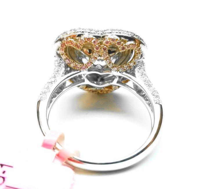 Heart 434ct Natural Faint Light Blue Pink Diamonds Engagement Ring GIA 18K 253693729984 2 700x653 - Heart 4.34ct Natural Faint Light Blue & Pink Diamonds Engagement Ring GIA 18K