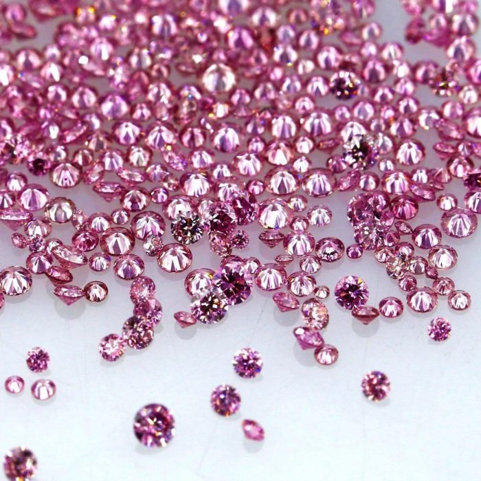 Natural Fancy Vivid Pink 0002 ct to 008 ct Round cut Diamonds Parcel Melles 253713638214 2 700x700 - Natural Fancy Vivid Pink 0.002 ct to 0.08 ct Round cut Diamonds Parcel Melles