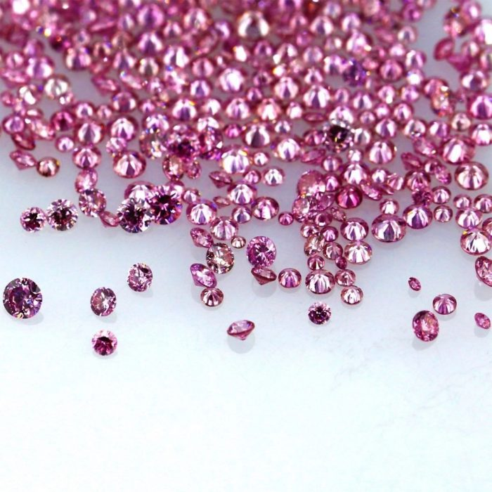 Natural Fancy Vivid Pink 0002 ct to 008 ct Round cut Diamonds Parcel Melles 253713638214 3 700x700 - Natural Fancy Vivid Pink 0.002 ct to 0.08 ct Round cut Diamonds Parcel Melles