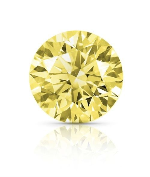 Real Diamond 141ct Natural Loose Fancy Yellow Color Diamond GIA VS1 Round 264141569774 - Real Diamond 1.41ct Natural Loose Fancy Yellow Color Diamond GIA VS1 Round