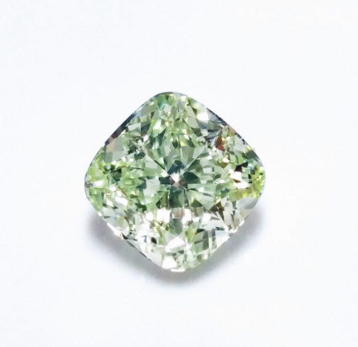 Green Diamind Real 101ct Natural Loose Fancy Green VVS1 Diamond GIA Cushion 253713569125 700x677 - Green Diamind - Real 1.01ct Natural Loose Fancy Green VVS1 Diamond GIA Cushion