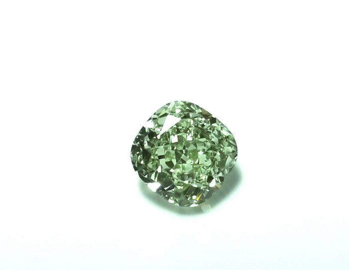 Green Diamond 102ct Natural Loose Fancy Light Green Color GIA Cushion VS1 253846878225 700x543 - Green Diamond - 1.02ct Natural Loose Fancy Light Green Color GIA Cushion VS1