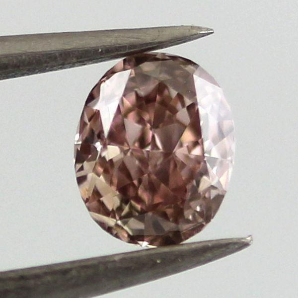 Real 052ct Natural Loose Fancy Brown Purple Pink Diamond 100 All Natural Oval 263781428825 - Real 0.52ct Natural Loose Fancy Brown Purple Pink Diamond 100% All Natural Oval