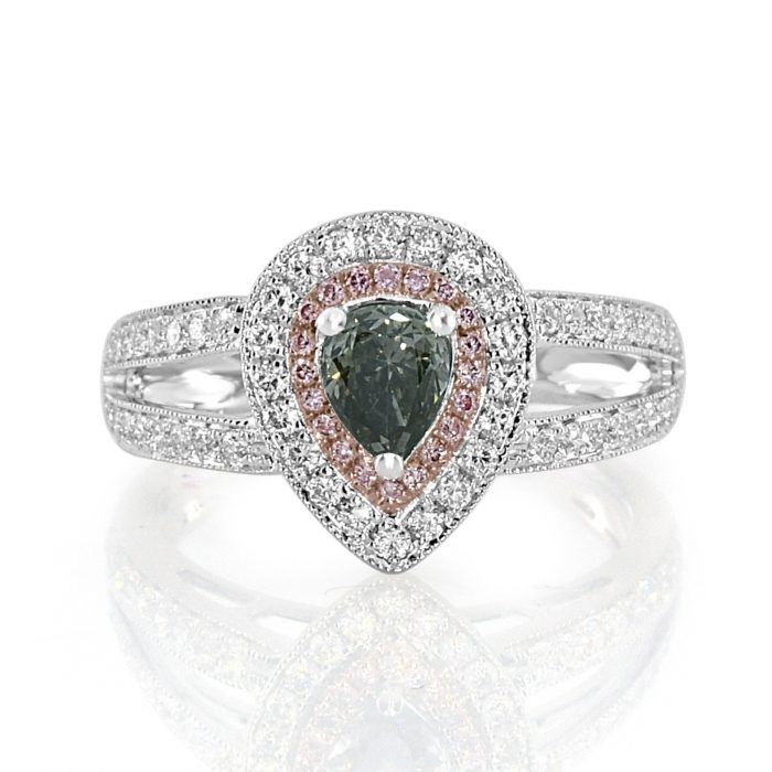 Real 115ct Natural Fancy Gray Pink Diamond Engagement Ring 18K Solid Gold 253794842945 700x700 - Real 1.15ct Natural Fancy Gray & Pink Diamond Engagement Ring 18K Solid Gold