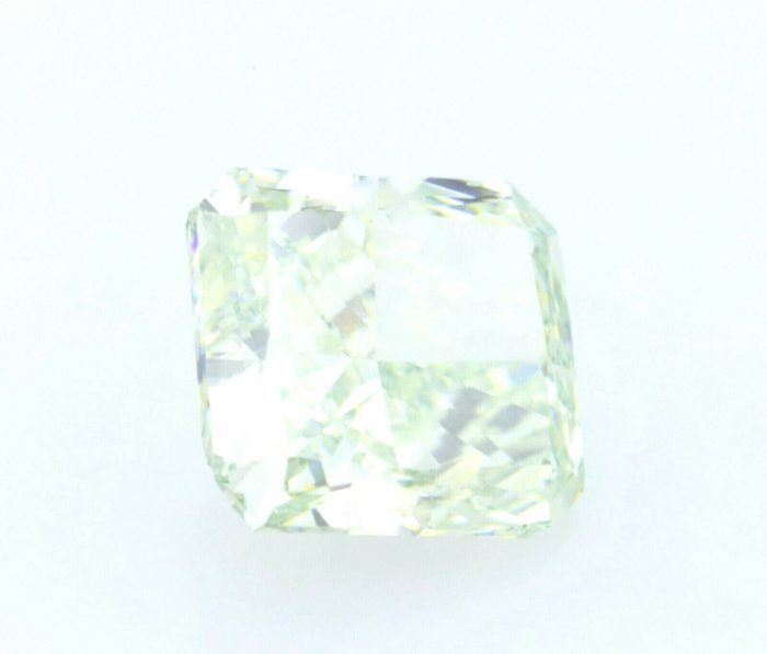 Real 128ct Natural Loose Fancy Light Yellow Green Color Diamond GIA Radiant 254325728685 4 700x597 - Real 1.28ct Natural Loose Fancy Light Yellow Green Color Diamond GIA Radiant