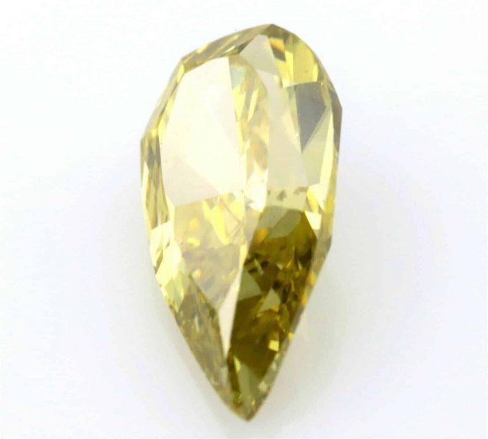 Chameleon Diamond 146ct Natural Loose Fancy Green Yellow Color Pear GIA SI1 254352091306 2 700x630 - Chameleon  Diamond 1.46ct Natural Loose Fancy Green Yellow Color Pear GIA SI1