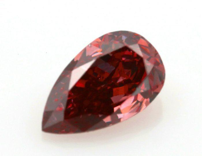 Pink Diamond 020ct ARGYLE Natural Loose Fancy Deep Pink Color GIA Pear Red 264316424496 2 700x542 - Pink Diamond - 0.20ct ARGYLE Natural Loose Fancy Deep Pink Color GIA Pear Red