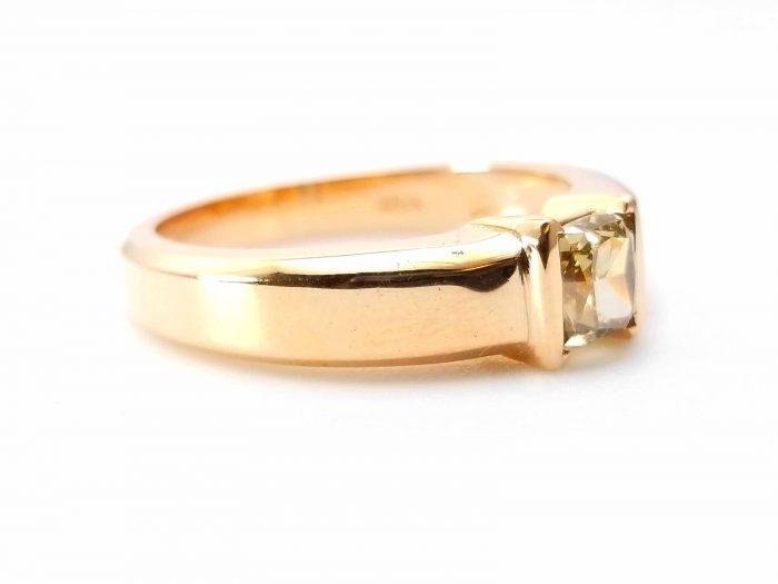 Whiskey Diamond Mens Unisex Ring 108ct Natural Fancy Brown GIA 18K Rose Gold 264274423596 2 700x525 - Whiskey Diamond - Men's Unisex Ring 1.08ct Natural Fancy Brown GIA 18K Rose Gold