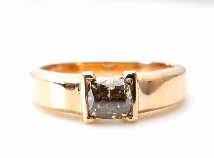 Whiskey Diamond Mens Unisex Ring 108ct Natural Fancy Brown GIA 18K Rose Gold 264274423596 700x517 - Whiskey Diamond - Men's Unisex Ring 1.08ct Natural Fancy Brown GIA 18K Rose Gold