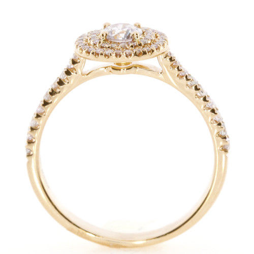 Real 070ct Natural Fancy Pink Diamonds Engagement Ring 18K Solid Gold Round 263762585627 3 - Real 0.70ct Natural Fancy Pink Diamonds Engagement Ring 18K Solid Gold Round