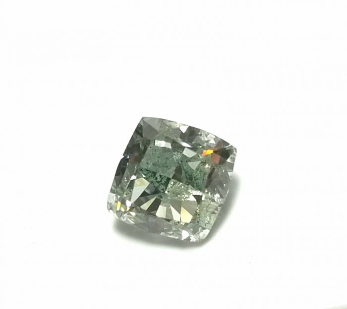 Real 142ct Natural Loose Fancy Green Color Cushion Diamond GIA SI Rare and Big 253750187817 2 700x624 - Real 1.42ct Natural Loose Fancy Green Color Cushion Diamond GIA SI Rare and Big