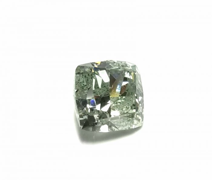 Real 142ct Natural Loose Fancy Green Color Cushion Diamond GIA SI Rare and Big 253750187817 3 700x595 - Real 1.42ct Natural Loose Fancy Green Color Cushion Diamond GIA SI Rare and Big