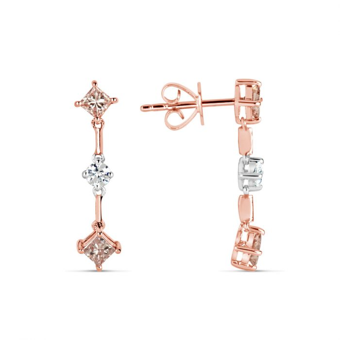 Real Fine 085ct Fancy Pink Diamonds Earrings 18K All Natural 2 Grams Rose Gold 253788280477 2 700x700 - Real Fine 0.85ct Fancy Pink Diamonds Earrings 18K All Natural 2 Grams Rose Gold