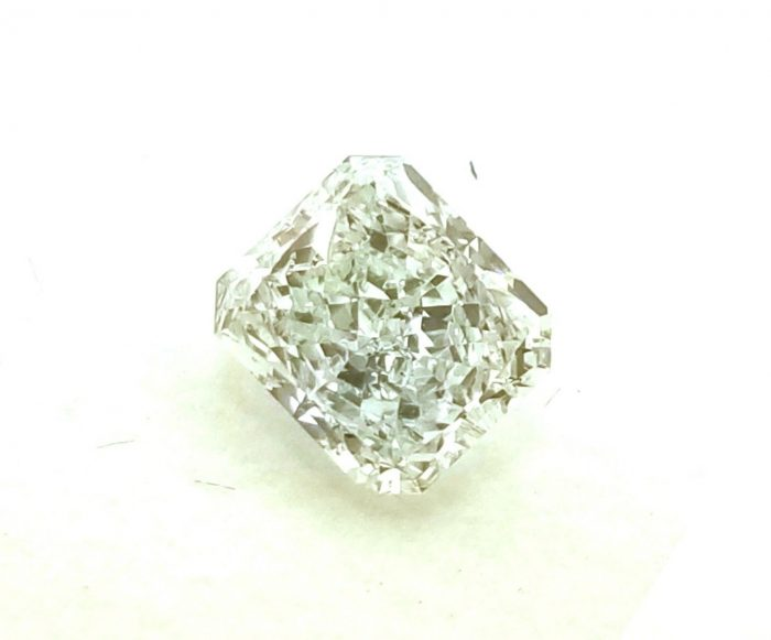 067ct Green Diamond Natural Loose Fancy Light Blue Green GIA Radiant SI1 253693729908 2 700x581 - 0.67ct Green Diamond - Natural Loose Fancy Light Blue Green GIA Radiant SI1