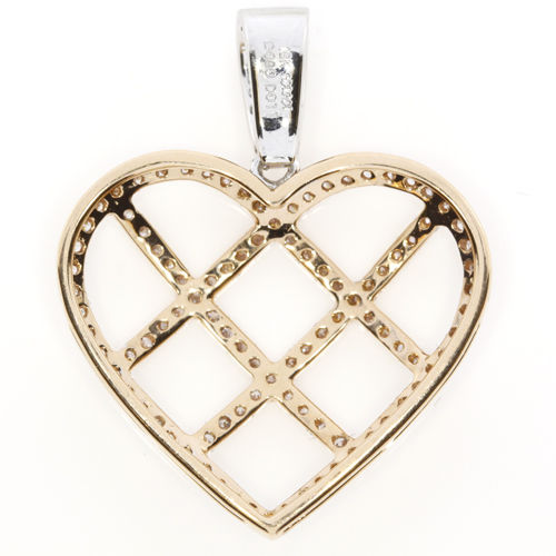 Real 089ct Natural Fancy Pink Diamonds Heart Pendant Necklace 18K Rose Gold 4G 263738747988 2 - Real 0.89ct Natural Fancy Pink Diamonds Heart Pendant Necklace 18K Rose Gold 4G