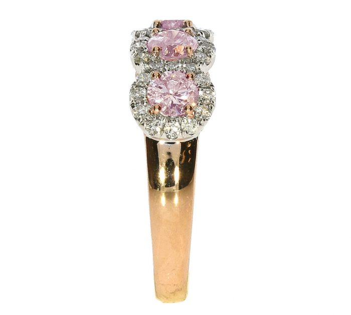 Real 165ct Natural Fancy Pink Diamonds Engagement Ring 18K Solid Gold 5G Rounds 263744165858 2 700x628 - Real 1.65ct Natural Fancy Pink Diamonds Engagement Ring 18K Solid Gold 5G Rounds
