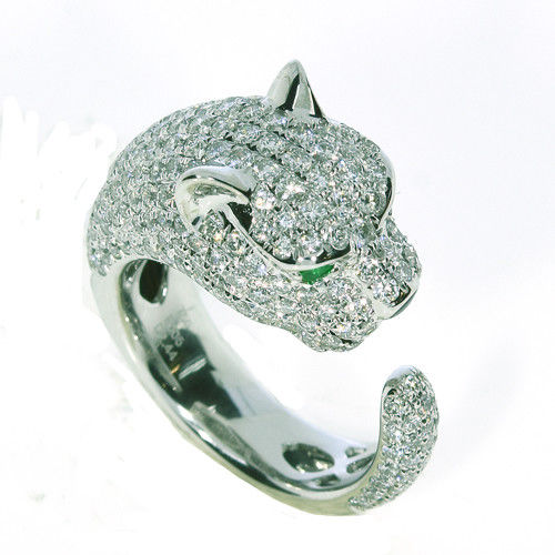 Real 253ct Natural G Color VS1 Diamonds Engagement Ring 18K Solid Gold Tiger 253676205238 - Real 2.53ct Natural G Color VS1 Diamonds Engagement Ring 18K Solid Gold Tiger