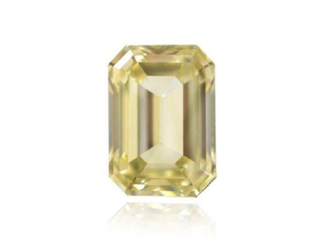 Yellow Diamond 061Ct Natural Loose Fancy Brownish Yellow GIA Emerald Cut VS1 263738746708 - Yellow Diamond - 0.61Ct Natural Loose Fancy Brownish Yellow GIA Emerald Cut VS1