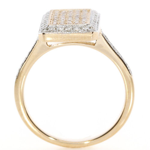 Real 080ct Natural Fancy Pink Diamonds Engagement Ring 18K Solid Gold 6G Band 263738747989 3 - Real 0.80ct Natural Fancy Pink Diamonds Engagement Ring 18K Solid Gold 6G Band