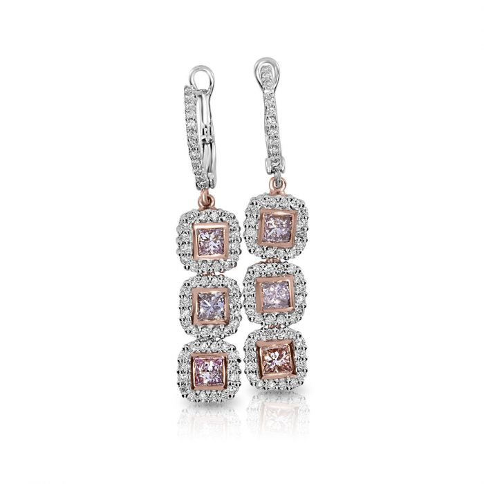 Real Fine 185ct Fancy Pink Diamonds Earrings 18K All Natural 7 Grams Rose Gold 263847315829 700x700 - Real Fine 1.85ct Fancy Pink Diamonds Earrings 18K All Natural 7 Grams Rose Gold